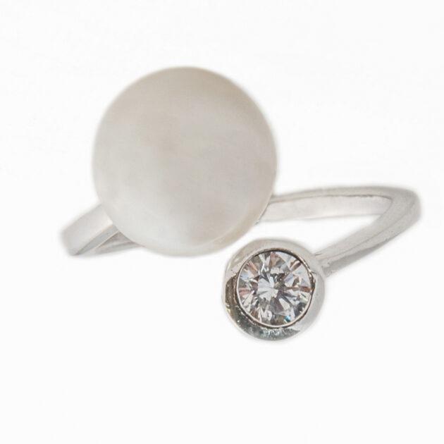 Δαχτυλίδι μαργαριτάρι