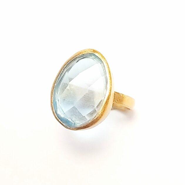 Δαχτυλίδι ακουαμαρίν